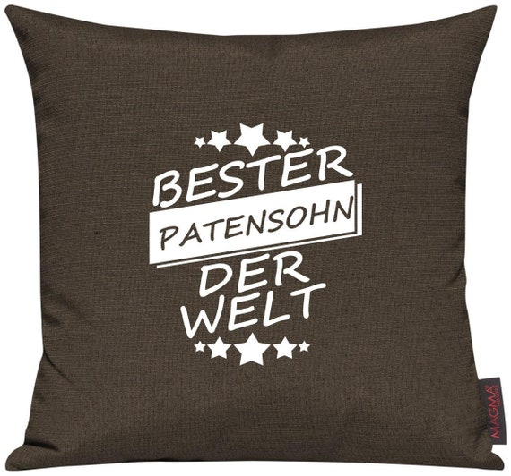 Pillow Cases Deco Pillows best godson in the world