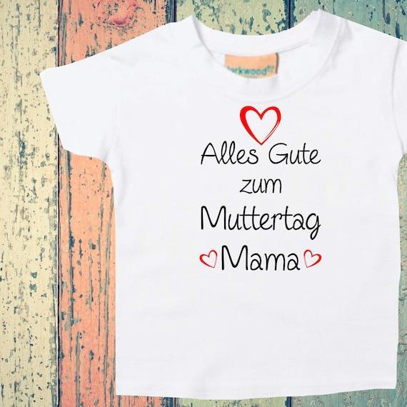 Baby Kids T-Shirt Happy Mother's Day Mom Gift Birth Momday