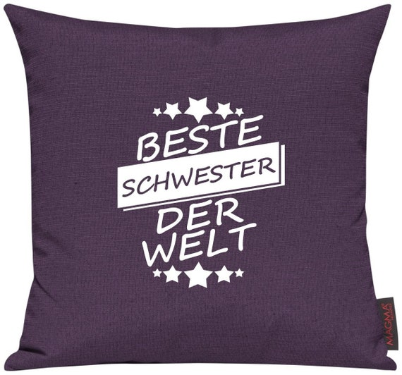 Pillow covers Deco pillows best sister of the world