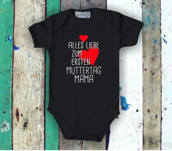 Baby Body short sleeve All Love for First Mother's Day Mom
