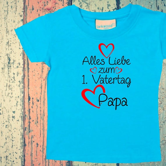 Baby Kids T-Shirt Happy 1st Father's Day Dad Gift Birth Dad's Day