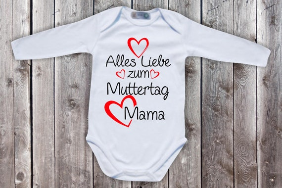 Baby Bodybody BabyBody Long Sleeve All Love for Mother's Day Mom