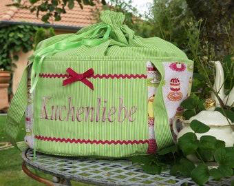 """Unique """"Cake Love"""" Transport Bag"""