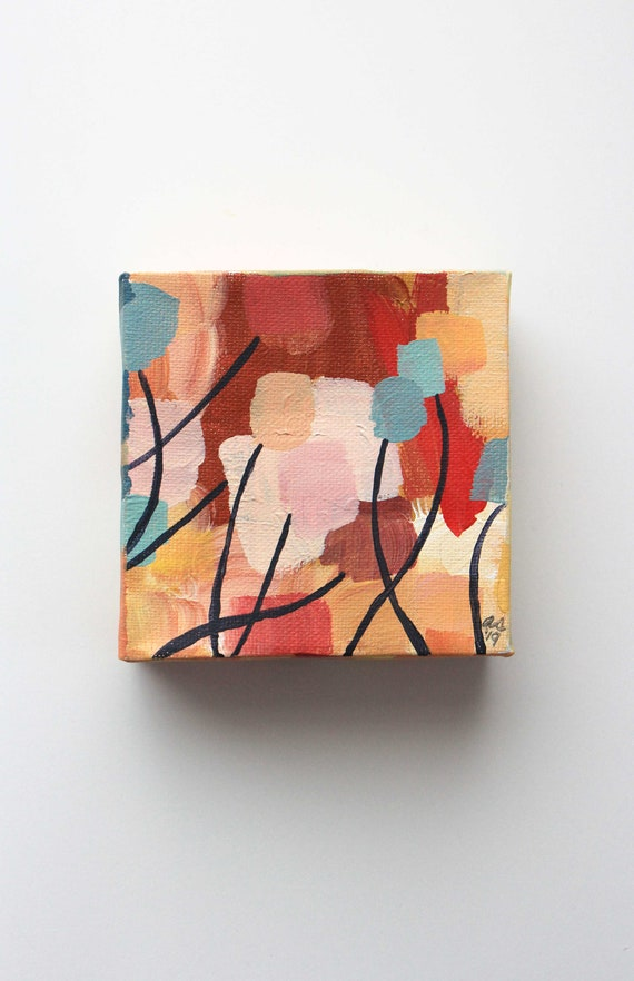 Blushing Bouquet Home Gallery Abstract Art Office Art Home Etsy