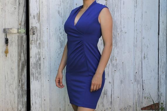 Calvin Klein Royal Blue Cocktail Dress