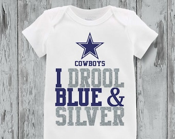 84d302799 Dallas cowboy onesie