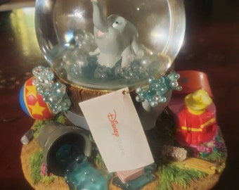 Disney Tinker Bell Snow Globe Mini Trolley Steamboat Willie