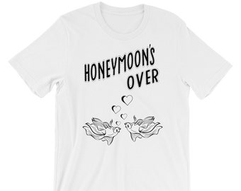 HONEYMOON Short-Sleeve Unisex T-Shirt