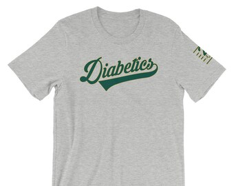 Oakland T1D Short-Sleeve Unisex T-Shirt