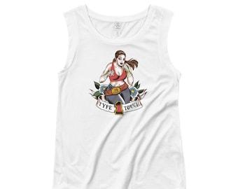 TYPE 1 TOUGH Ladies' Cap Sleeve T-Shirt