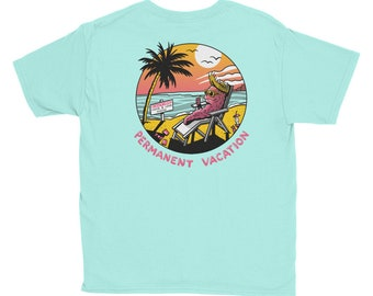 PERMANENT VACATION Youth Short Sleeve T-Shirt
