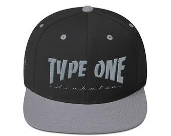 T1D Snapback Hat - Black