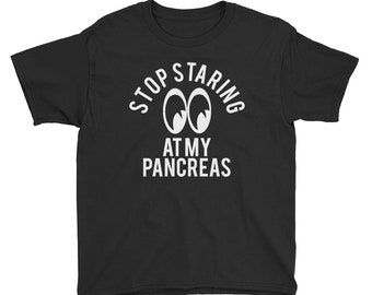 STOP STARING Kids Short Sleeve T-Shirt