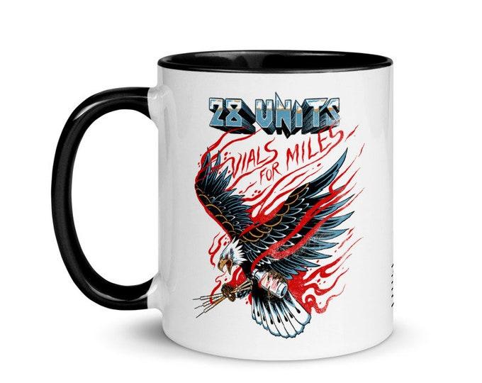 Vials for Miles mug with Color Inside