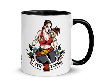 Type 1 Tough Mug with Color Inside