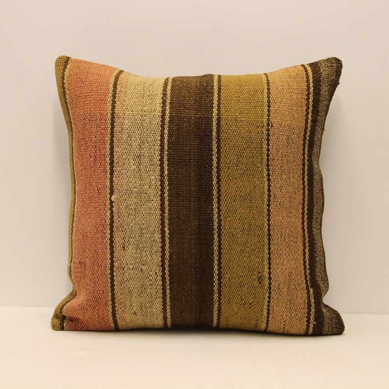 Vintage kilim Pillow covers Boho big pillow 20x20 Bohemian Cushion vintage  pillows sofa pillow 4ef-390