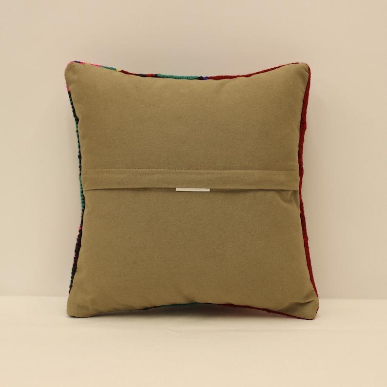 Throw Pillow Cover 12x12 inches 30x30 cm Handmade Cushion Boho Flaming Bedding Pillow Vintage Kilim Cushion Sofa Kissen 4of-630