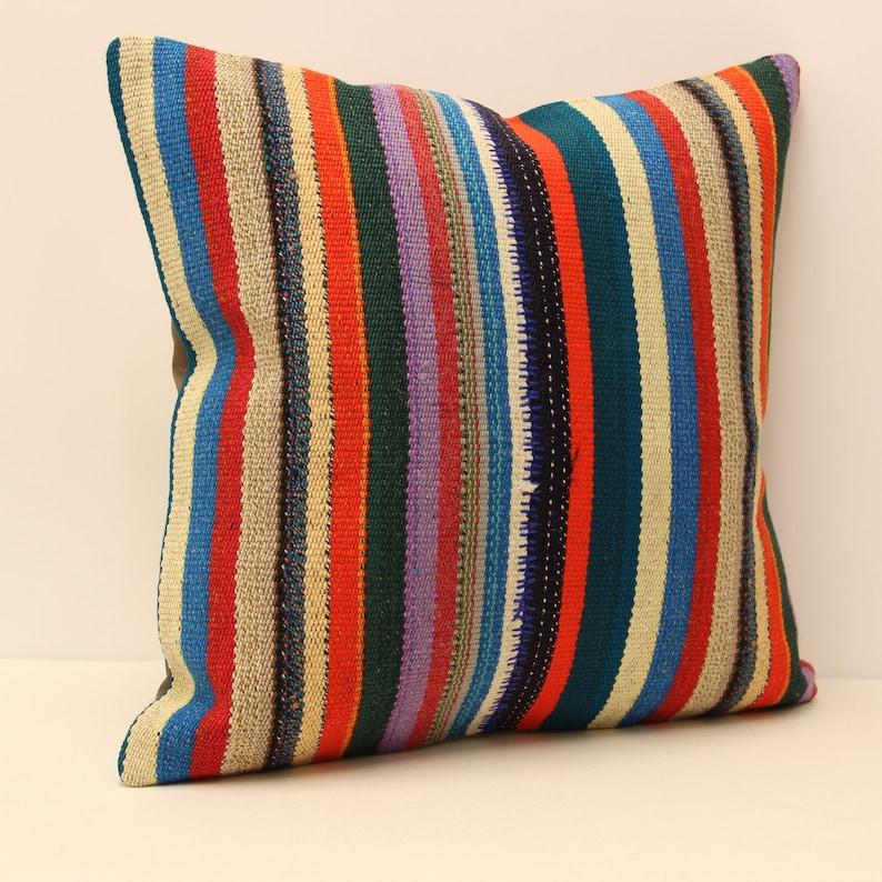 Pillow Covers Any Size Home Decor Decorative Pillow Cover Designer Pillow Pillow 20X20 Coral Kilim Pillow lumbar pillow throw pillow 4ef-114