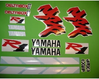 Kit de stickers autocollants vintage YZF R1 1998 yamaha 1000R, used for sale  Delivered anywhere in Canada