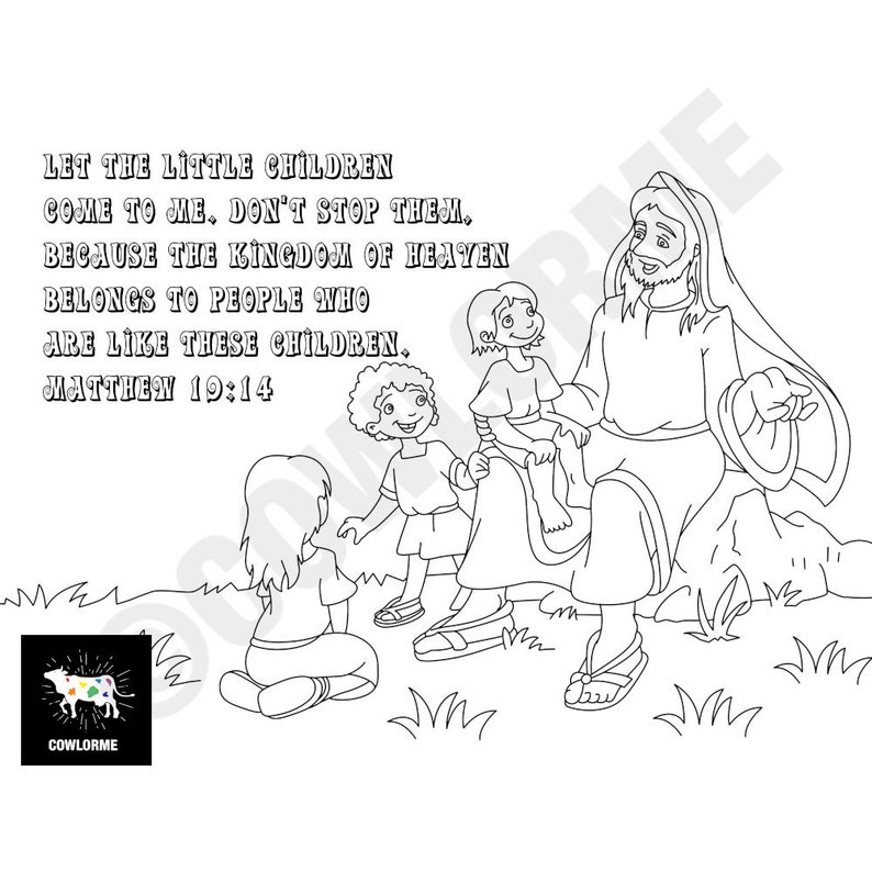 55 Bible Coloring Pages For Preschoolers Pdf  Images