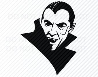 Dracula Clipart Etsy