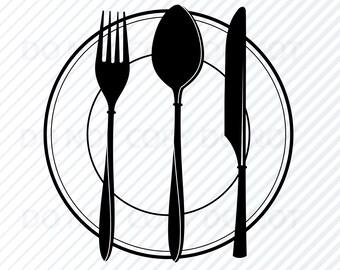 Chef Logo Svg Files For Cricut Chefs Silhouette Clip Art
