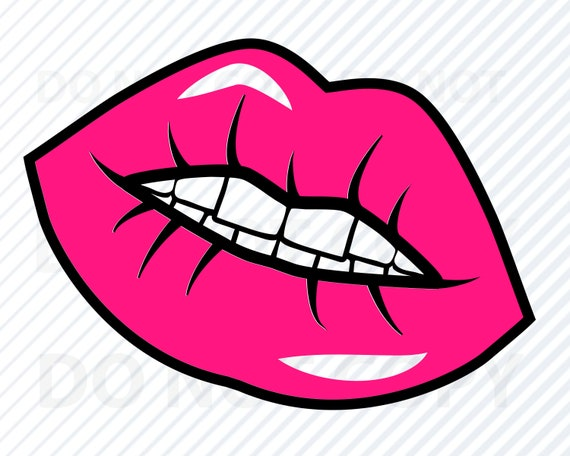 Lips Svg Files For Cricut Silhouette Lips Vector Images Etsy