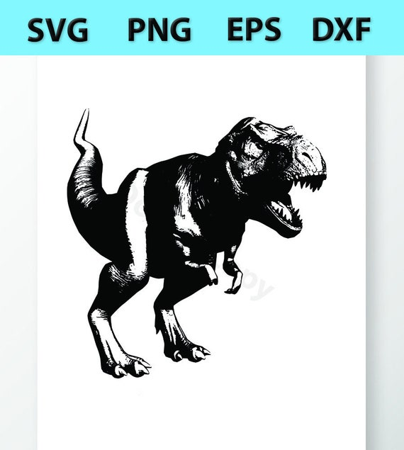 T Rex Dinosaur Svg Files Vector Images Clipart Cutting Etsy