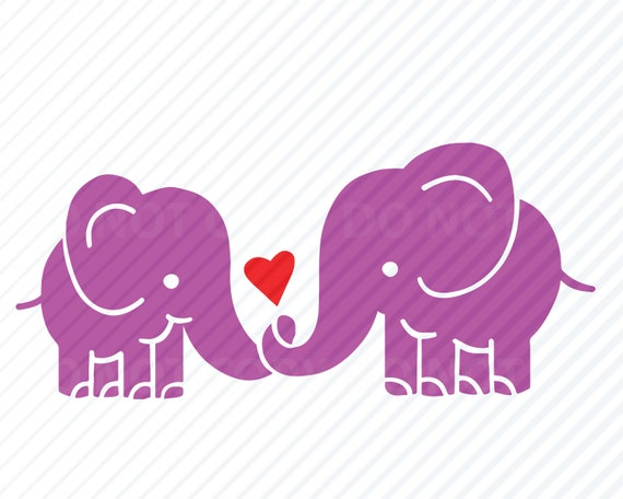 Elephant Svg Files Vector Images Clipart Cutting Files Svg Etsy