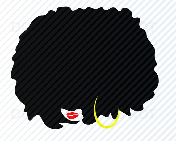 african american diva woman svg image for cricut afro black etsy