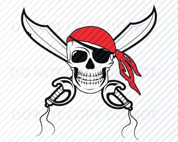 Pirate Logo Svg Eps Svg Skull /& Swords Jpg Crossed Swords Cut File Dxf Clipart Skull Cut File Cut File Png Vector Art