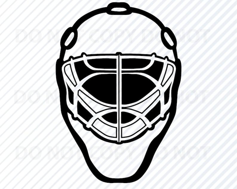 Hockey Goalie Mask SVG File for Cricut Hockey Logo Vector Images Sports  Clip Art Ice Hockey svg Eps, Png sports mask