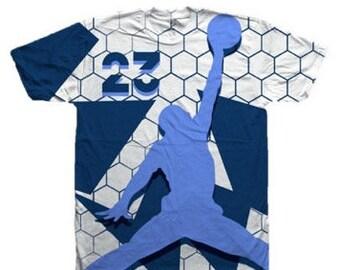 d2867fa21b96ec Custom Jordan Shirt for Air Jordan 11 Navy Snakeskin