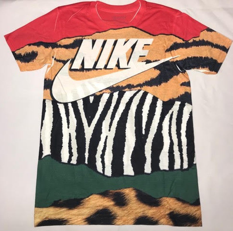 reputable site a75cd eace8 Custom Shirt for Air Max 95 Animal Pack 2.0 & Atmos x Nike Air Max 1 Animal  Pack 2.0