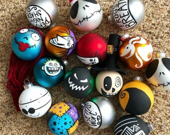 16 nightmare before christmas ornaments