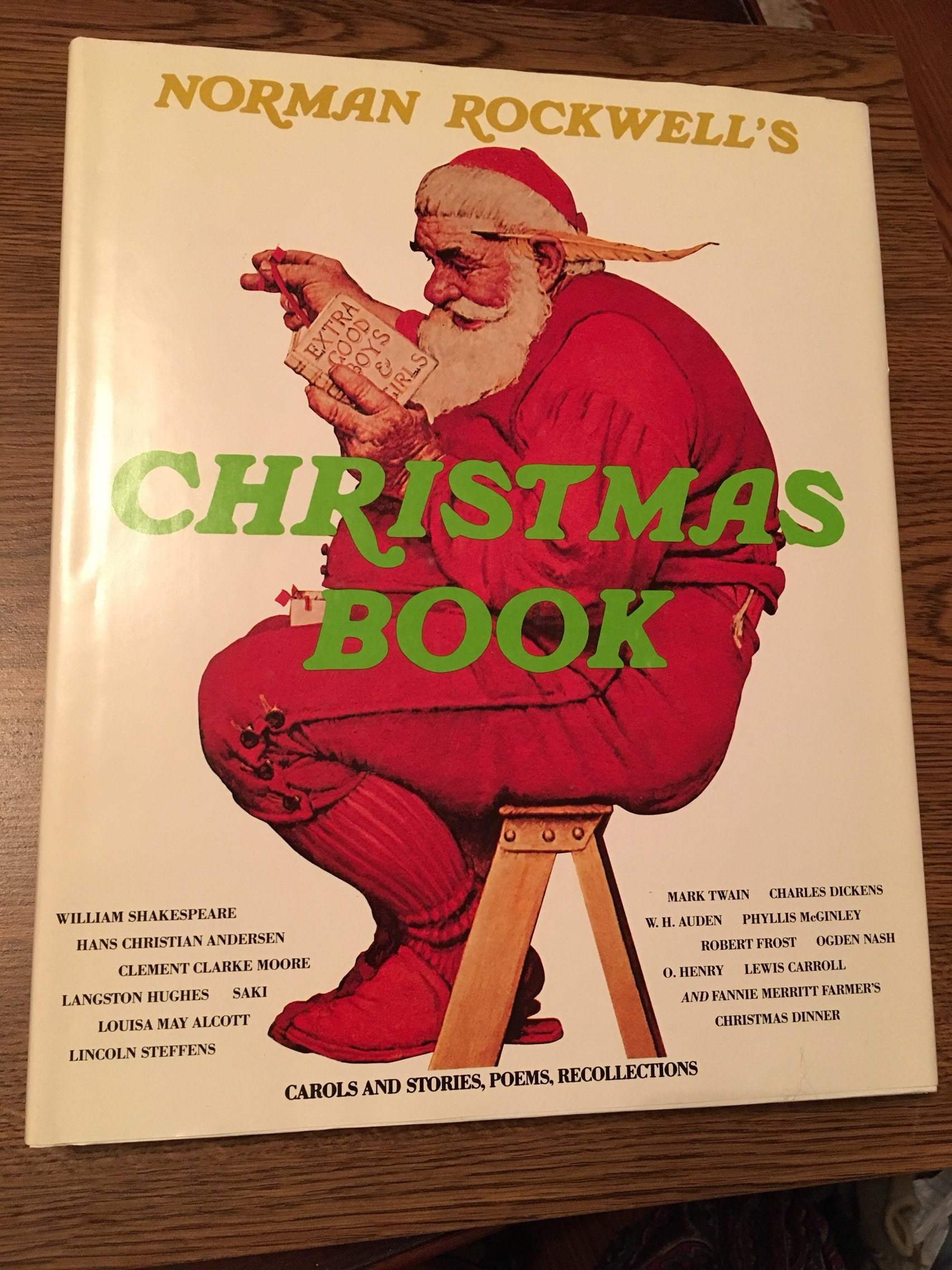 Special Edition Hardcover of Norman Rockwell\'s Christmas | Etsy