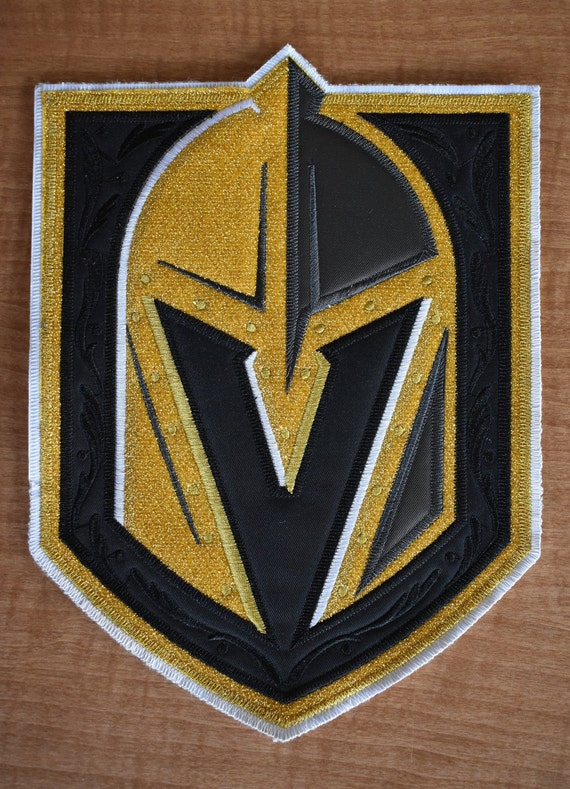 Large Golden Knights Jersey Sew On Patch 10 x 8  35ad3524a