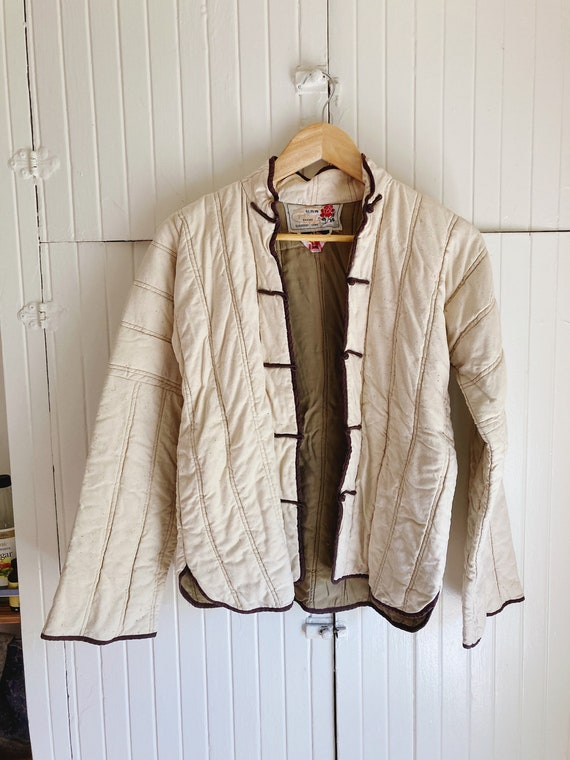 Chinese linen quilted jacket
