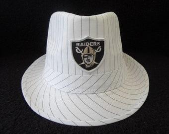 5e5908c87a8 Oakland Raiders   Adult unisex   fedora sun hat