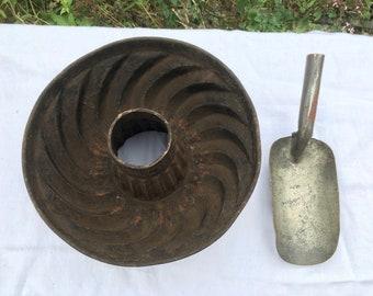 Old Gugelhupf baking pan
