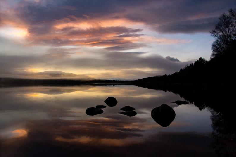 Scottish landscape photography Loch Morlich Cairngorms image 0