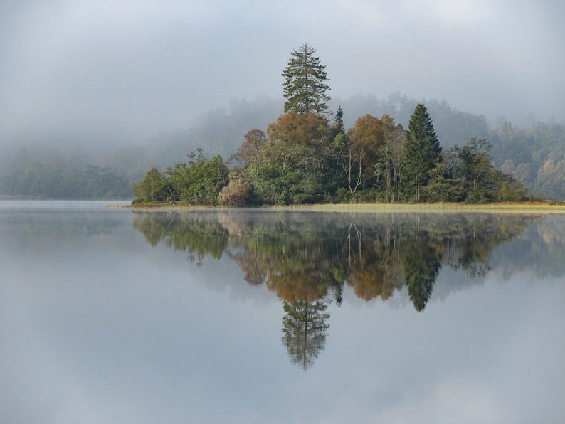 Scottish landscape photography Loch Achray Trossachs image 0