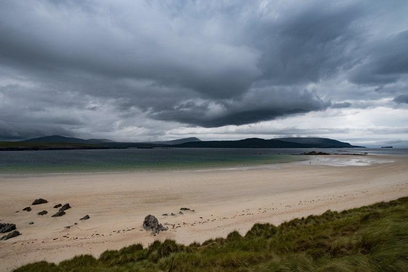 Scottish landscape photography dramatic skies Balnakeil image 0
