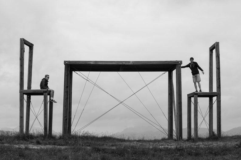 Landscape photography table sculpture Austria image 0