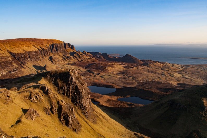 Scottish landscape photography Quiraing from the Trotternish image 0