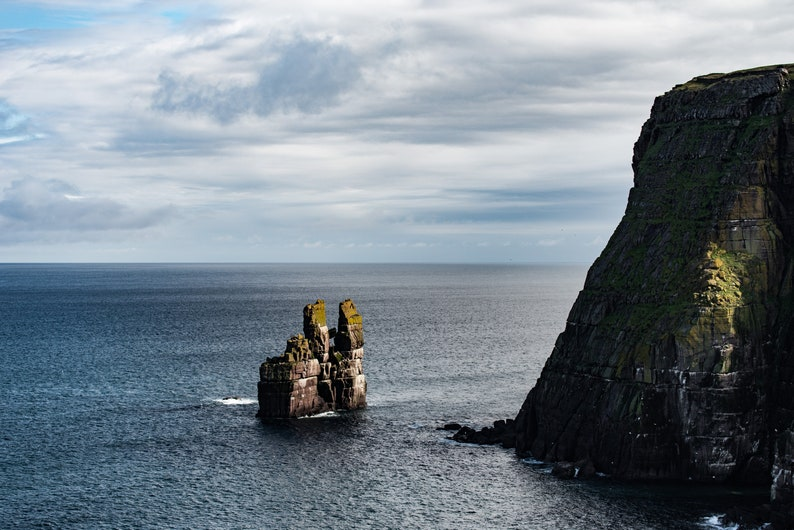 Scottish landscape photography Sea Stack Durness Sutherland image 0