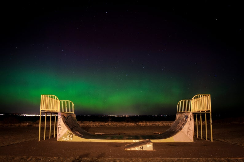 Scottish landscape photography aurora borealis northern image 0