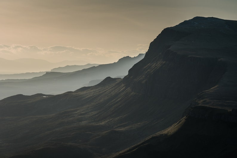 Scottish landscape photography the Trotternish Ridge Skye image 0