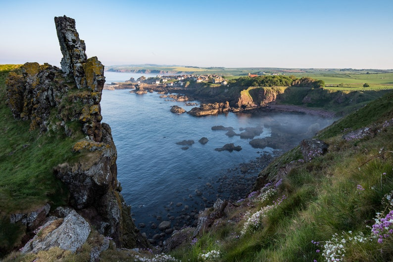Scottish landscape photography St Abbs Bay Berwickshire image 0