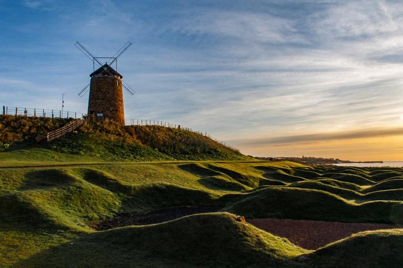 Scottish landscape photography St Monans Fife windmill image 0